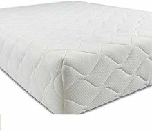 Pure Foam Cot Bed Mattress Quilted Breathable With