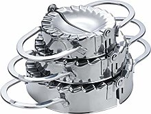 Pure Vie 3 Pack Stainless Steel Pierogi/Dumpling