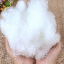 Pure Virgin Hollow Fibre White Stuffing For -