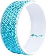Pure2Improve Yoga Wheel - Blue/White