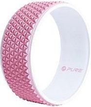 Pure2Improve Yoga Wheel - Pink/White