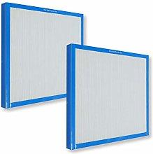 PUREBURG 2-Pack Replacement True HEPA Air Filter