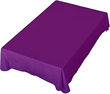 Purple Background Tablecloth Polyester for