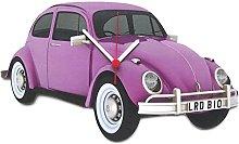 Purple Beetle Car Clock - BT10