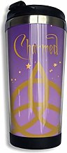 Purple Charmed Vacuum Insulated Stainless Steel