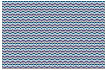 Purple Fish Bone Semi-Gloss Wallpaper Roll East