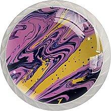 Purple Illustration, Modern Minimalist Printing
