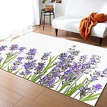 Purple Lavender Carpet for Living Room Home