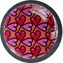 Purple Loveknobs Cabinet Handles Kitchen pulls