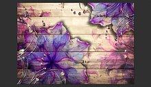 Purple Memory 210cm x 300cm Wallpaper East Urban