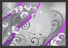 Purple Orchids Variation 210cm x 300cm Wallpaper