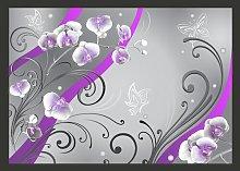 Purple Orchids Variation 245cm x 350cm Wallpaper