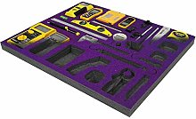 Purple Shadow Foam Original - Tool Organiser -