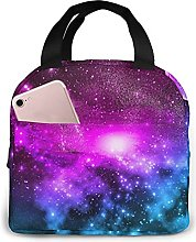 Purple Star Wallpaper Insulated Lunch Bag Lunch