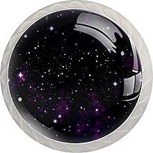 Purple Stars, Modern Minimalist Printing Cupboard