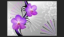 Purple Vibrations 280cm x 400cm Wallpaper East