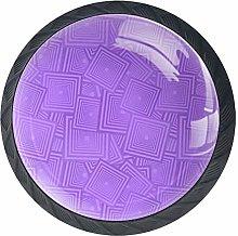 Purple6knobs Cabinet Handles Kitchen pulls Drawer