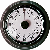 Pusher Retro Kitchen Timer - Black