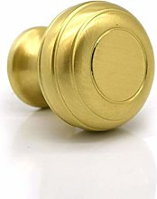 Pushka Home P195 Door knob, Handle, Gold, Small