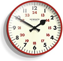 Putney 45cm Wall Clock Newgate Colour: Red
