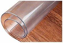 PVC Clear Desk Pad Round Edge Non Slip Writing Mat