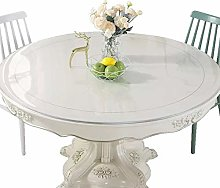 Pvc Round Transparent Table Cover Dinning