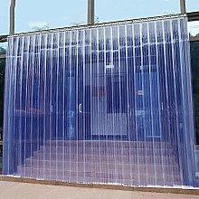 PVC Strip Curtain Kit,Transparent Insulation and