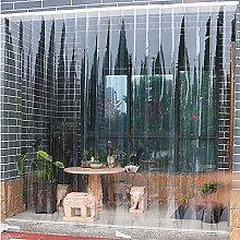 PVC Strip Curtain Kit,Transparent Plastic Curtain
