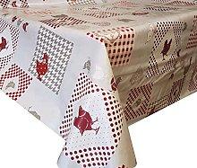 PVC Tablecloth Chicken & Ducks 4 Metres (400cm x
