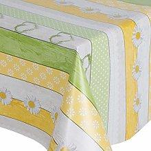 PVC Tablecloth Daisy Chain 2 Metres (200cm x