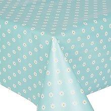 PVC Tablecloth Daisy Duckegg 1.5 Metres (150cm x