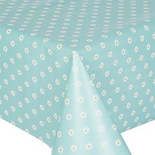 PVC Tablecloth Daisy Duckegg 3 Metres (300cm x