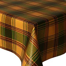 PVC Tablecloth Highland Green 2.5 Metres (250cm x