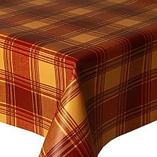 PVC Tablecloth Highland Terracotta 1.5 Metres