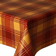 PVC Tablecloth Highland Terracotta 2 Metres (200cm