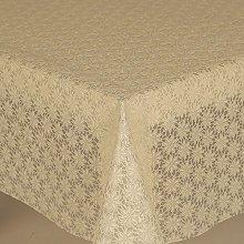 PVC Tablecloth Lace Daisy Cream 2 Metres (200cm x