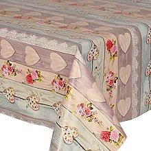 PVC Tablecloth Love Bouquet 2.5 Metres (250cm x