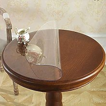 PVC Transparent Tablecloth, 2mm Thick Round
