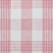 Pvc Wipe Clean Table Cloth Red Check 135cm Round