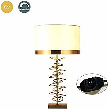 PXX Modern Metal Desk Lamp, Creative Luxury E27