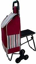 PXY Climbing Shopping Cart Loading Cart Small Cart