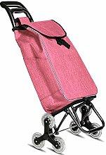PXY Climbing Shopping Cart Small Pull Cart Folding