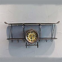 PXY Durable Storage Rack Wall Shelf Antique Old