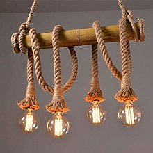 PXY High-End and Good-Looking Hemp Rope Chandelier