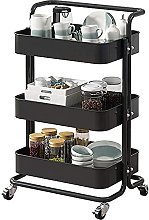 PXY Storage Rack Storage Trolleys on Wheels, 3