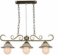 PXY Useful Chandelier Pastoral Ceiling Lamps