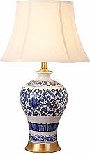 PXY Useful Table Desk Lamp Ceramic Table Lamp,