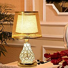 PXY Useful Table Desk Lamp Glass Table Lamp with