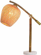 PXY Useful Table Lamps Retro Bamboo Tube Table