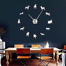 PYIQPL Bull Terrier Dog Wall Art DIY Large Wall